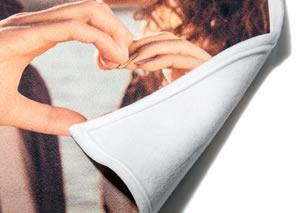 Fleece deken met foto 140 x 95 cm